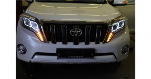 Фары Land Cruiser Prado 150